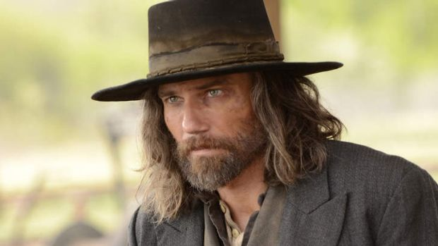 Anson Mount as Cullen Bohannan in <i>Hell on Wheels</i>.