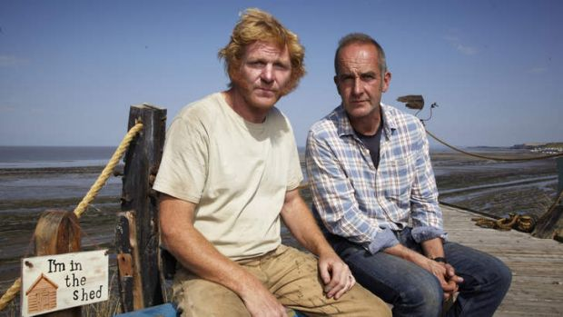 Will Trickett and Kevin McCloud.