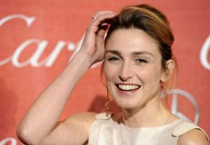 French actress Julie Gayet.