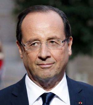French president Francois Hollande.