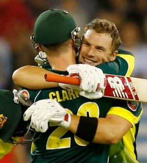 One to watch: Aaron Finch of Australia.