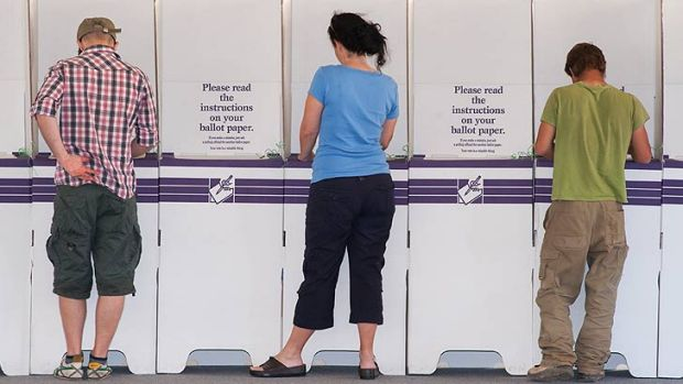 Voters in Griffith have many choices aside from the major parties.