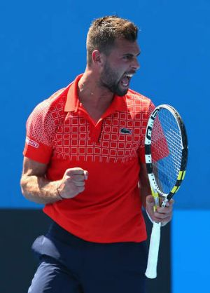 Benoit Paire stands in Nick Kyrgios' path as he seeks a date in the third round.
