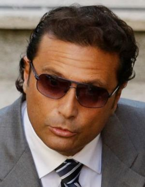 The former captain of the Costa Concordia luxury cruise ship Francesco Schettino