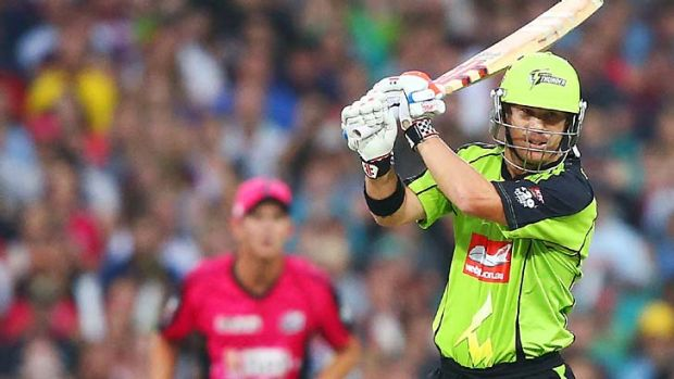David Warner has played just one game for the Sydney Thunder this season, but only because England were so bad in the Ashes.