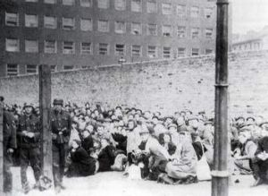 Horrific history ... The <i>umschlagplatz</i>, the point from which hundreds of thousands of Jews were deported to death ...