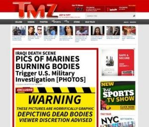 Report: Website TMZ broke the story on Wednesday.