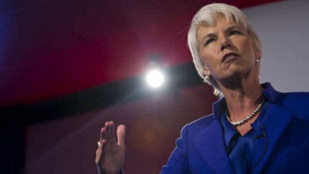 Looking to the future: Westpac CEO Gail Kelly.