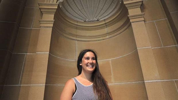 ''It takes a little bit of courage'': Nechama Basserabie, who got an ATAR of 99.90.
