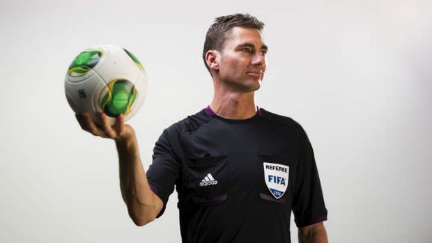 Canberra referee Ben Williams has been chosen to referee at the 2014 FIFA World Cup in Brazil.