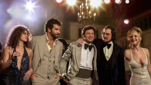 Frontrunner: <i>American Hustle</i> picked up 10 nominations.