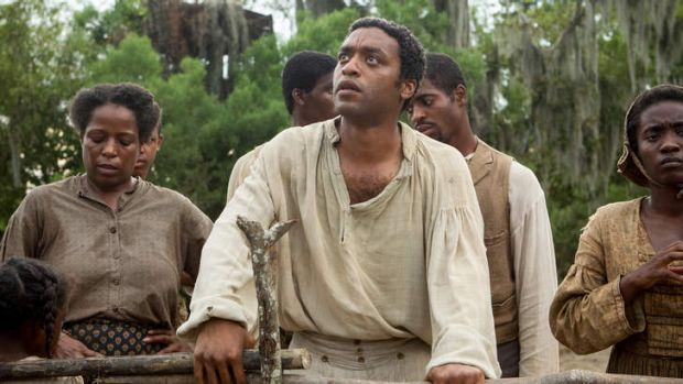Oscar hopeful: Chiwetel Ejiofor in <i>12 Years A Slave</i>.