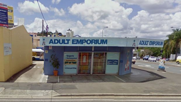 The Adult Emporium in Albion is offering a drive-through service, touted as the first of its kind for an Australian ...