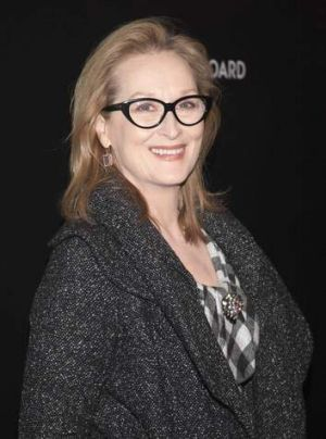 Stiff compeition: Meryl Streep, 64, winner of three Academy Awards, is nominated this year for her lead role in <i> ...