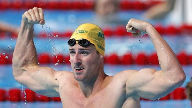 James Magnussen dominated to win the 100m freestyle in an impressive time of 47:59 seconds.