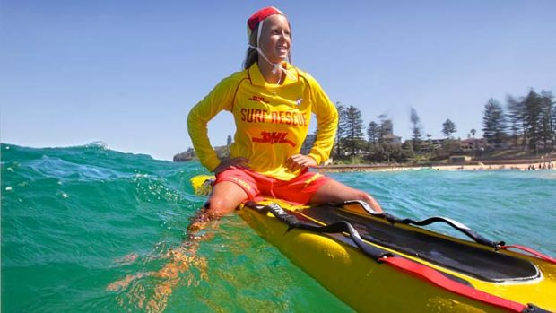 Water watch: Dee Why beach volunteer Emily Hockley has her lifesaver bronze medallion in sight as her days as a nipper ...