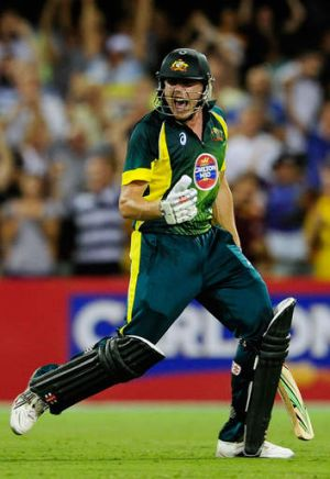 James Faulkner has shown his huge promise in the past 12 months, impressing on his Test debut, and thriving in ODIs.