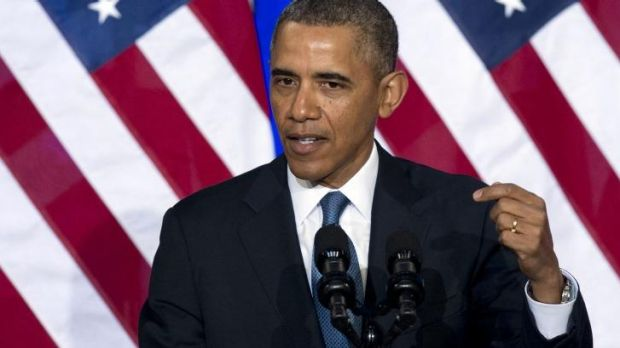 Addressing privacy concerns: US President Barack Obama speaks about the surveillance techniques used by the NSA.