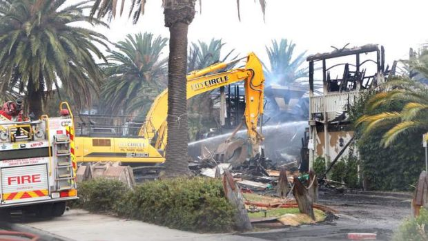 A kitchen fire on Friday night gutted St Kilda's much-loved Stokehouse restaurant, which only reopened 18 months ago ...