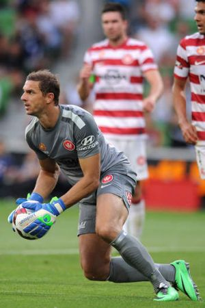 Point to prove: Ante Covic of the Wanderers.