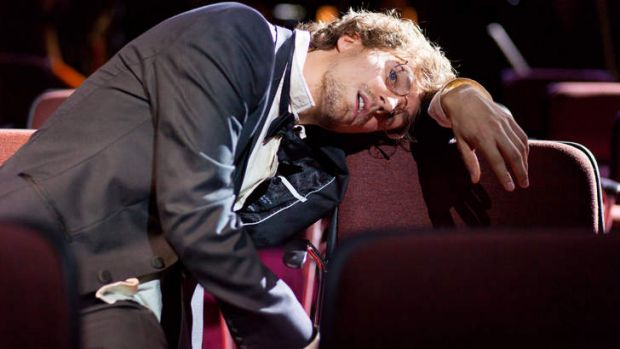 Tour-de-force: Mitchell Riley delivers an impressive performance in <i>His Music Burns</i>.