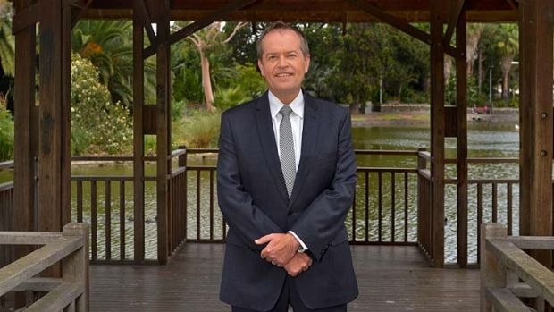 Pledged bipartisan support: Bill Shorten says he wants to stop street violence.