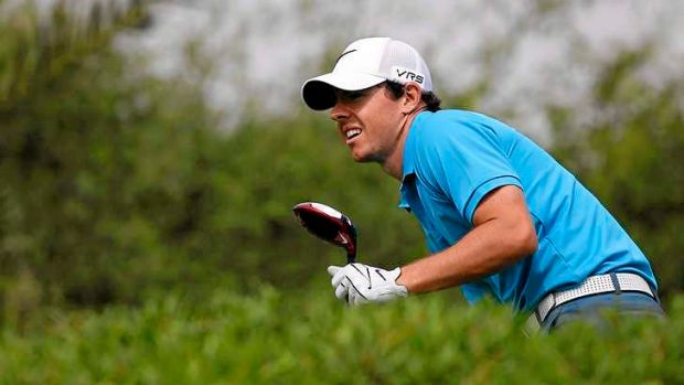 Rory McIlroy of Northern Ireland was undone by a rule breach.
