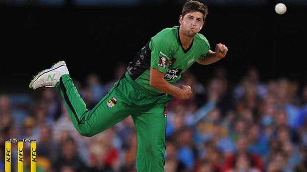 Star's turn: legspinner James Muirhead has been selected for Australia's Twenty20 squad.