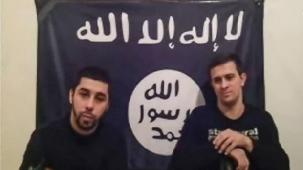 Threatening the Sochi Olympics: In online video footage, two men from Islamist militant group Vilayat Dagestan claimed ...