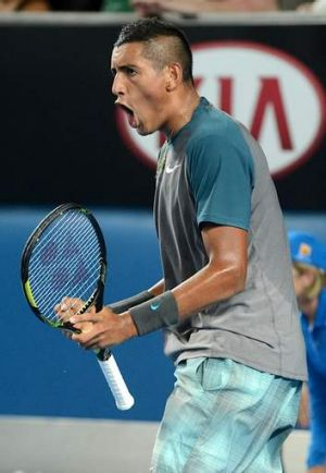 There's hope Nick Kyrgios's efforts can help spark an interest in tennis in Canberra.