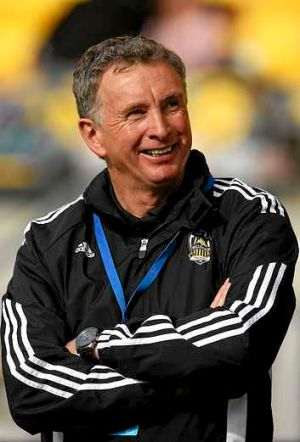 New approach: Ernie Merrick appears to be a different man at the Wellington Phoenix.