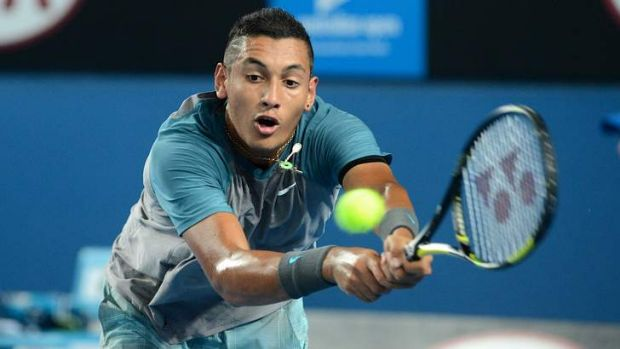 Canberra's Nick Kyrgios has been selected in the Dais Cup squad.