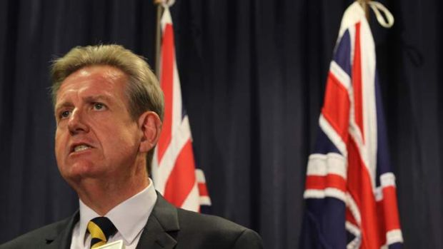 Finally biting the bullet: NSW premier Barry O'Farrell announces new regulations to tackle alcohol-related violence.