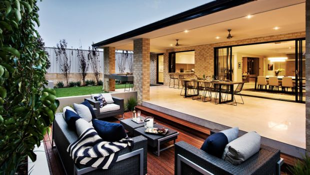 People are spending proportionally more on their outside living areas.