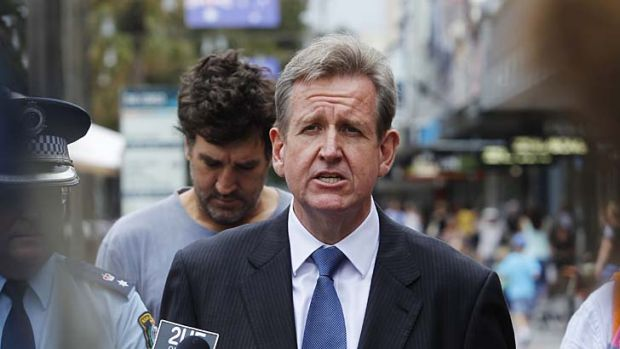 NSW Premier Barry O'Farrell: appeared to rule out taking the sale of remaining electricity assets to the next election.