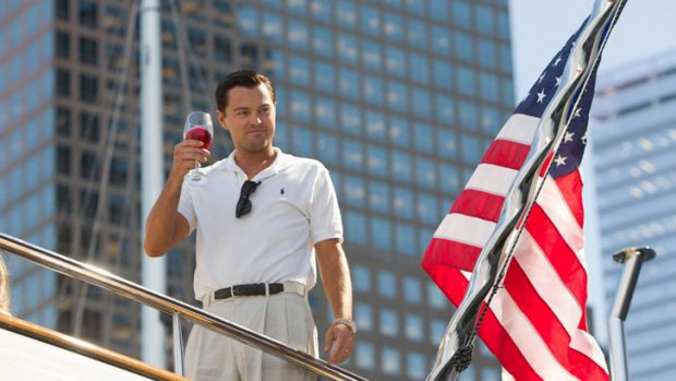 Leonardo DiCaprio stars in 'The Wolf of Wall Street'.