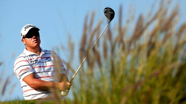 Tournament leader: George Coetzee of South Africa.