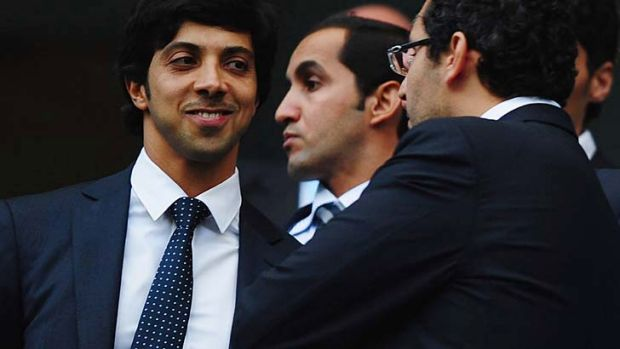 Manchester City owner Sheik Mansour (L) has a history of long-term support for his investments.
