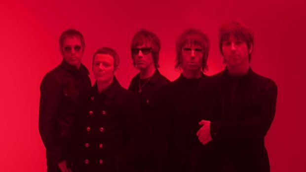 Fearless: Beady Eye, (from left) Andy Bell, Chris Sharrock, Jay Mehler, Liam Gallagher and Gem Archer.