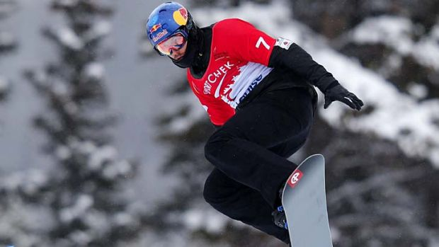 Alex Pullin is the favourite in the men's snowboard cross.