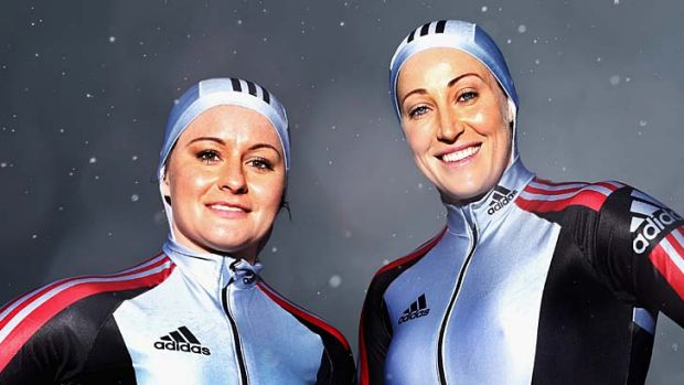 Jana Pittman (R), pictured with  Astrid Radjenovic, joins Paul Narracott as the only Australian to compete in both the ...