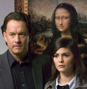 Huge hit: <i>The Da Vinci Code</i> by Dan Brown. The novel was made into a film starring Tom Hanks and Audrey Tautou.