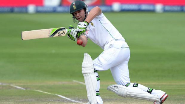 A.B. de Villiers is expecting another though examination from the Australians.