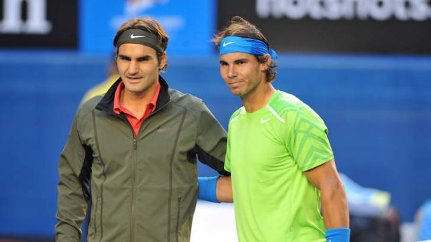'You've got to be good when you come to the net against Rafa' said the four-time Australian Open champion, Roger Federer.