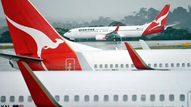 The flying kangaroo has acknowledged it faces pressures in its business.