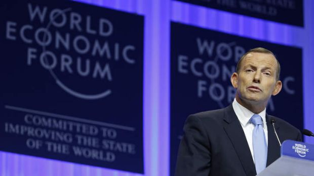 Prime Minister Tony Abbott has attacked Labor's stimulus spending during the GFC in his speech to the World Economic ...