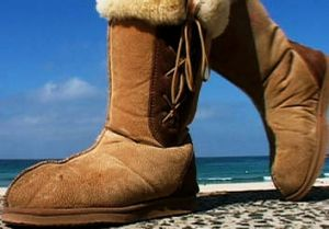 Contested: Ugg boots.