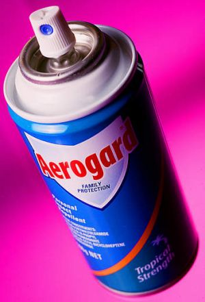 Aerogard: Based an an active ingredient developed by the CSIRO.