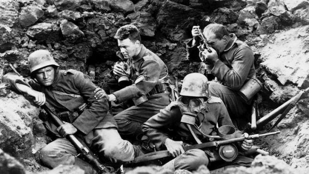Clear signs: The Nazis sabotaged the premiere of  <i>All Quiet on the Western Front</i> in Berlin in 1930, then later ...