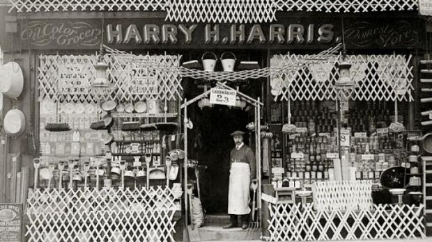 Harry Harris submitted a photograph of himself in front of the store as part of his appeal to be spared from serving in ...
